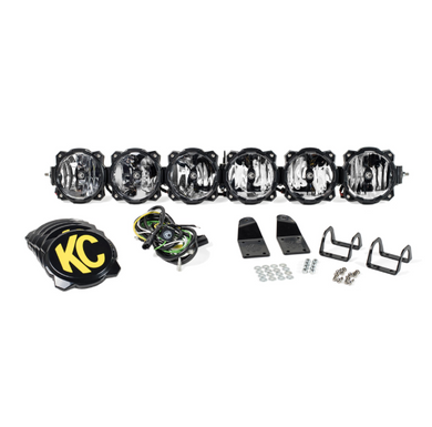 KC Hilites Gravity LED Pro6 Arctic Cat Wildcat 6-Light LED Light Bar System - #91327