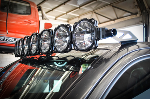 KC Hilites Gravity LED Pro6 05-18 Toyota Tacoma 8-light Combo LED Light Bar – #91331