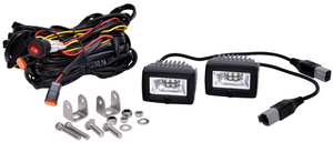 "KC Hilites 2"" C-Series C2 LED Area Flood Light System - #328"