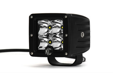 KC Hilites 3 Inch C-Series C3 LED Cube Pair