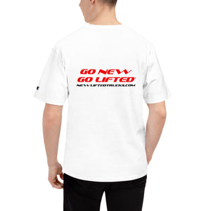 Go New Go Lifted Front-Back Print Men's Champion T-Shirt
