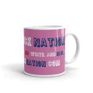 Lifted Truck Nation Pink Mug