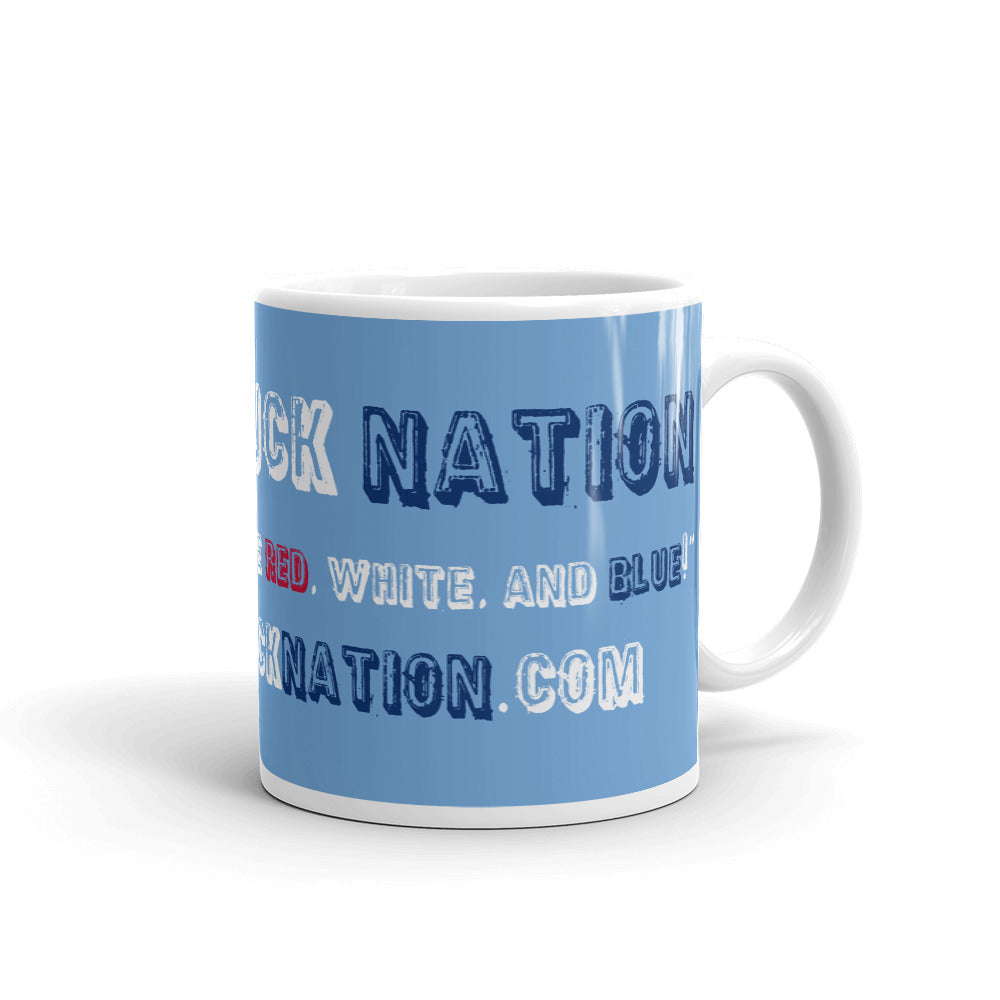 Lifted Truck Nation Blue Mug