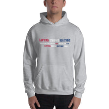 Load image into Gallery viewer, Lifted Truck Nation Front Print White Unisex Hooded Sweatshirt