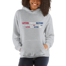 Load image into Gallery viewer, Lifted Truck Nation Front-Back Print White Hooded Sweatshirt