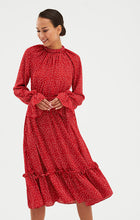 Load image into Gallery viewer, red dress | polka dot