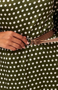 polka dot dress | vintage dress | shopping online