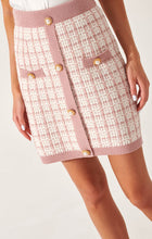 Load image into Gallery viewer, Tweed suit with mini skirt