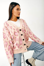 Load image into Gallery viewer, Oversized Leopard print cardigan