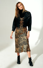 Load image into Gallery viewer, Zebra print dress