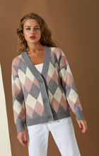 Load image into Gallery viewer, v-neck | knitted cardigan