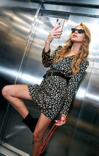 Load image into Gallery viewer, Leopard mini dress