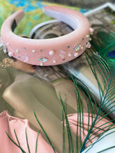 Load image into Gallery viewer, PINK mixed crystal headband