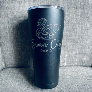 32 oz. Stainless Steel Insulated Tumbler (Single-Side Custom Design Included)