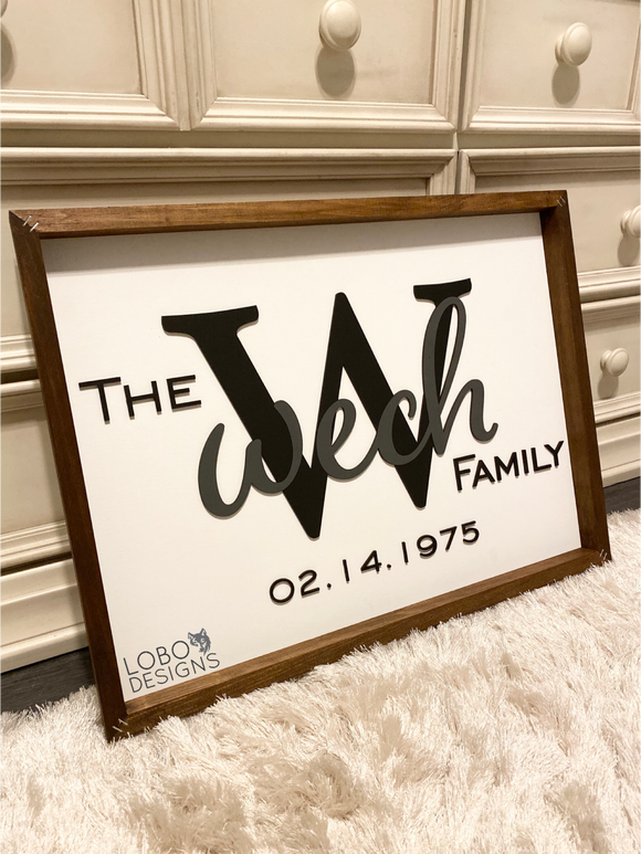 Custom Farmhouse Sign — 18