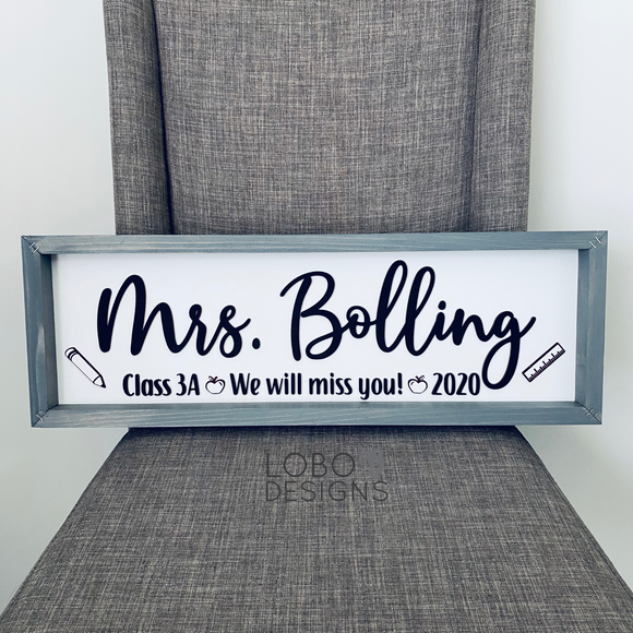 Custom Farmhouse Sign — 8