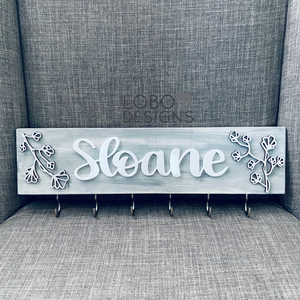 Custom Hand-Lettered Headband Board