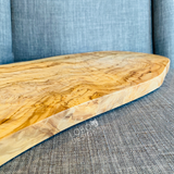 Custom Engraved Olive Wood Cutting Board