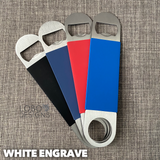Personalized/Customized Silicone Bottle Opener (Single-Side)