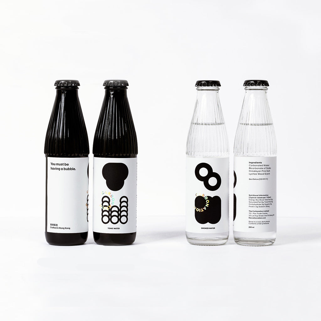 The Carbonation - 湯力水+煙燻梳打 (各200ml ) x4