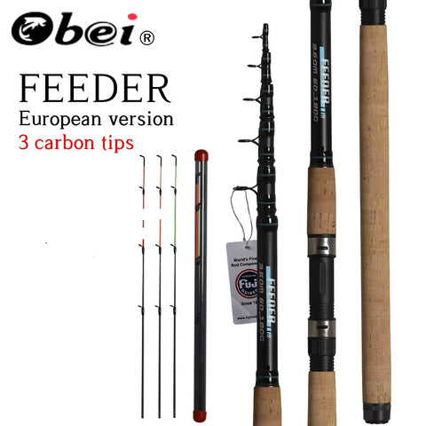 OBEI Feeder Carbon Telescopic Fishing Rod