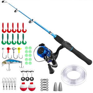 Kids Fishing Pole Rod and Reel Combo
