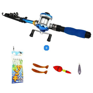 Kids Junior Fishing Rod Reel Combo