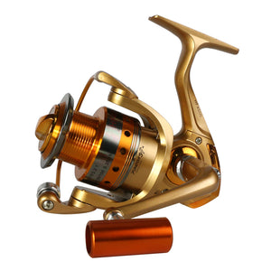 Saltwater Spinning Fishing Reel with Metal Spool