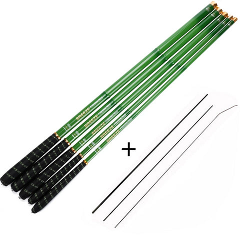 Stream Carbon Fiber Telescopic Fishing Rod