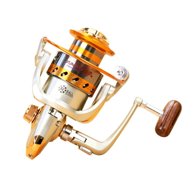 Metal Spinning Fishing Reel For Fresh/Salt Water