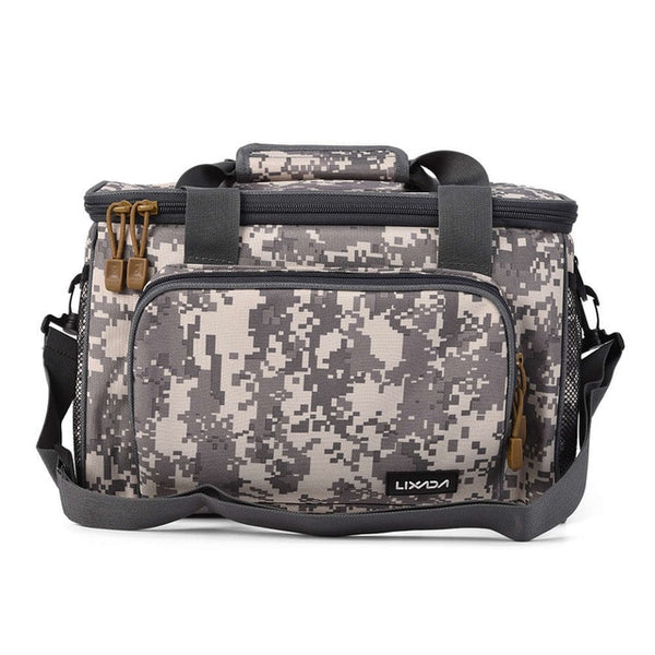 Canvas Portable Multifunction Fishing Tackle Bag