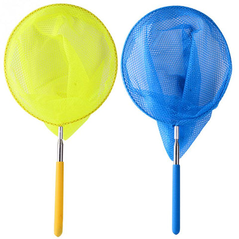 Stainless Steel Extendable Folding Fishing Net for Kids