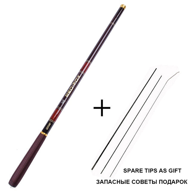 BREEZE RED FOX Carbon Fiber Fishing Rod