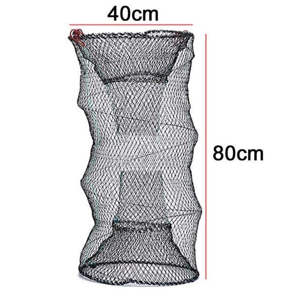 Well Made Collapsible Crab, Crayfish, Lobster, Eel, Prawn, and Shrimp Catcher Pot  4 Sizes
