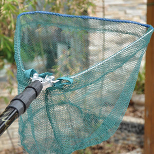 Wildwood 185cm Telescope Triangular Fishing Net with Folding Aluminum Alloy