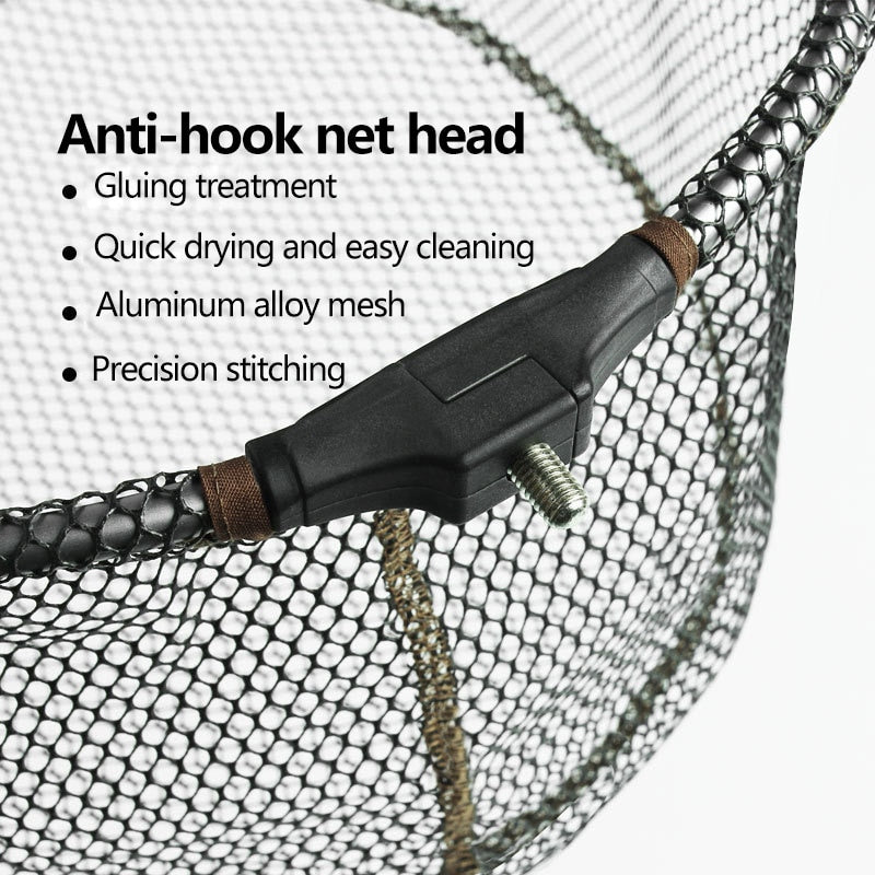 Brielle Foldable Aluminum Alloy Fish Landing Net