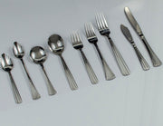 One Family collection all 108 pieces of Stainless steel Knives,Spoons and forks