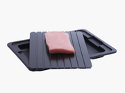 Professional Defrosting Tray Thawing Plate with Drip Pan