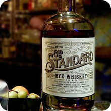 Load image into Gallery viewer, Old Standard Organic Rye Whiskey
