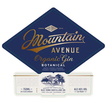 Load image into Gallery viewer, Mountain Avenue Organic Gin