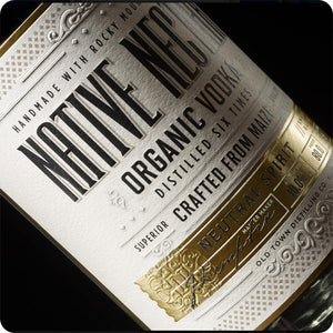Native Organic Vodka