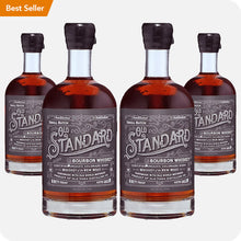 Load image into Gallery viewer, Old Standard Organic Bourbon Whiskey 4-Pack