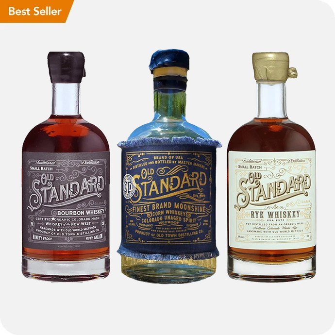 Old Standard Organic Whiskey Trio