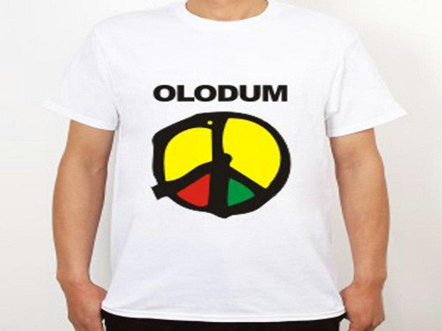 GILDAN 2016 Summer high quality large size Michael Jackson Olodum design short cotton T shirt men