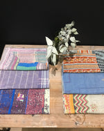 Pack de 6 Sets de Table Vintage Kantha, n° 2 - -Claire Gasparini-Halo Concept
