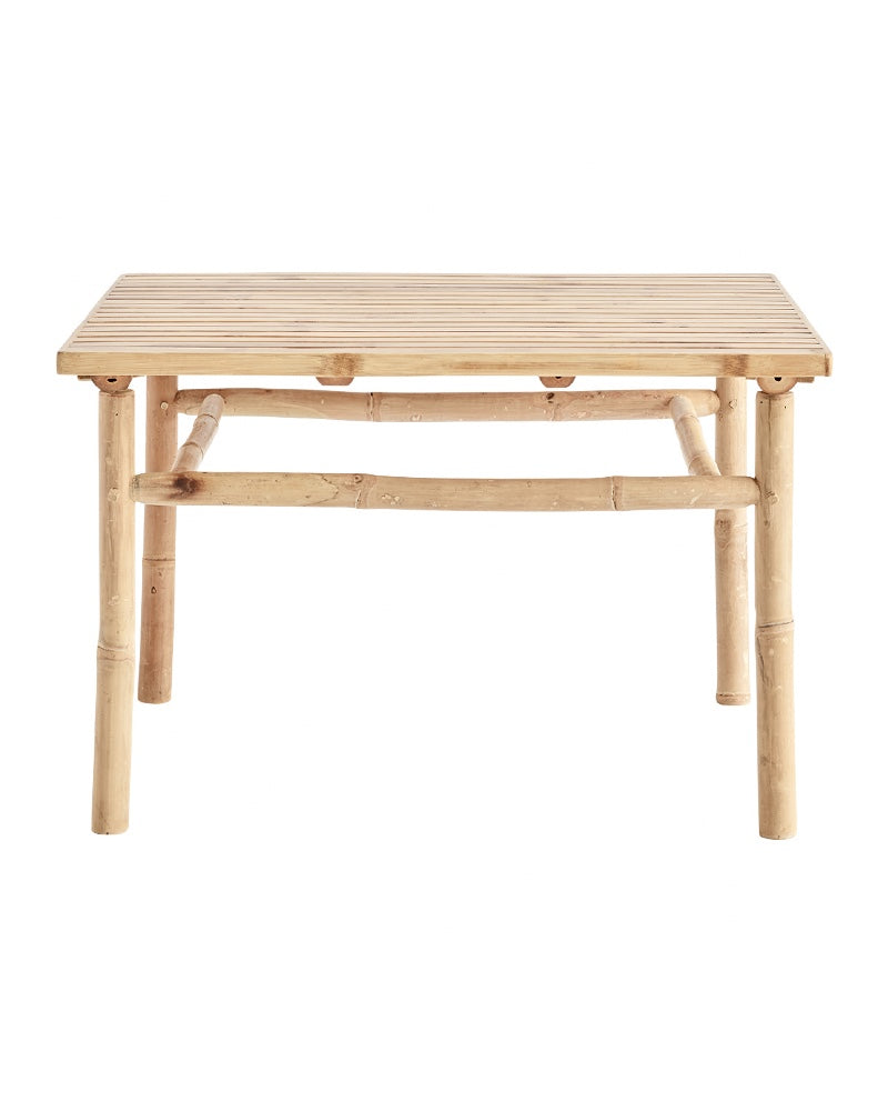 Table basse Bambou, 70x70x45cm - -Tine K Home-Halo Concept