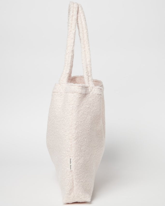 Bouclé mom-bag Studio Noos