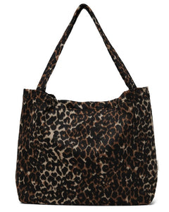 Brown Jaguar mom-bag Studio Noos