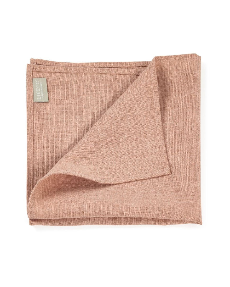 Serviette de table Polylin Washed, Apricot