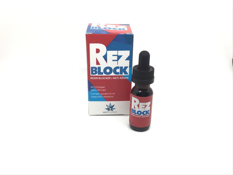 15ml Concentrated Rez Block All Natural Water Pipe Additive